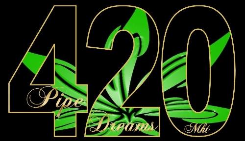 420 Pipe Dreams Marketing Logo